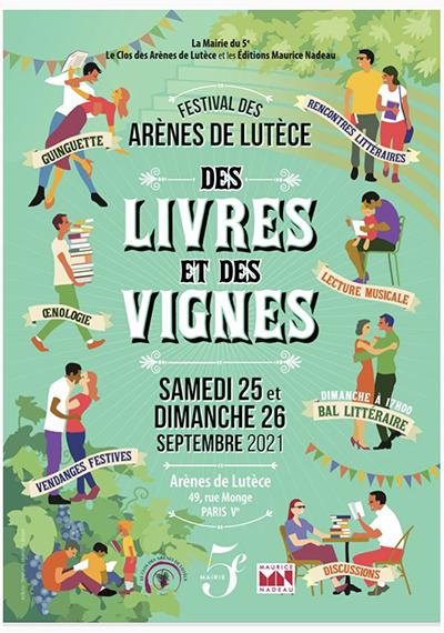 Festival des littératures et des vins des Arènes de Lutèce, 25 et 26 septembre
